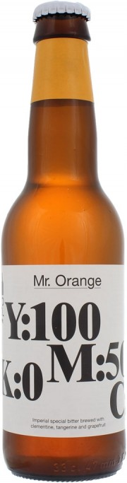Bière Mr Orange par la brasserie To Ol
