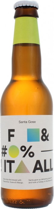Bière Santa Gose Fuck It All